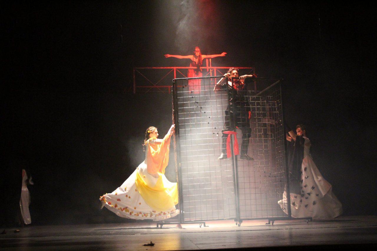 Andrej Purkart v scéne prekliatia (foto: Richard Slezák)