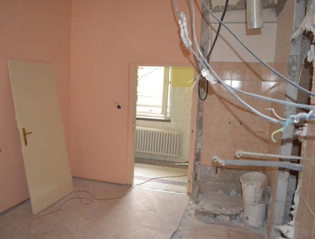Foto 1 - renovácia soc. zariadenia v izbe