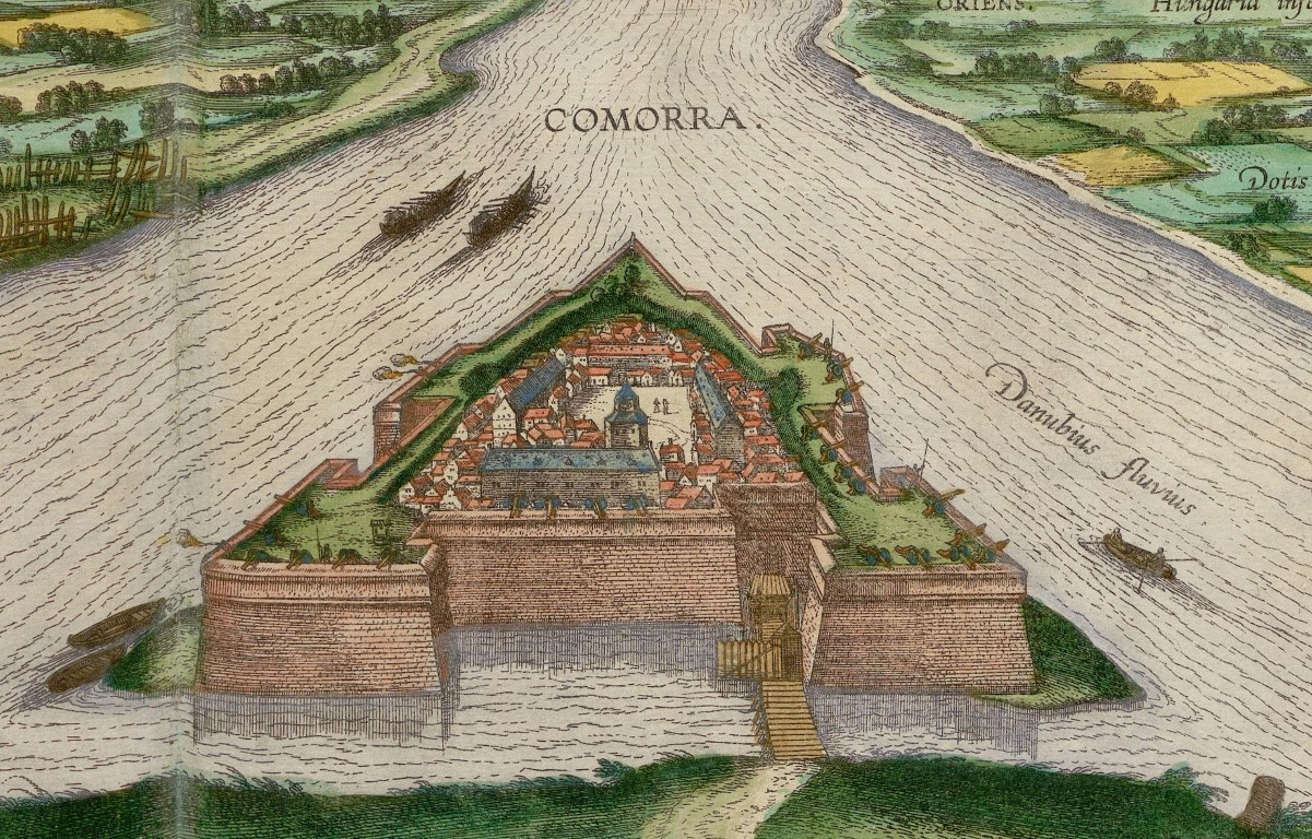 Georg Braun – Frans Hogenberg Civitates Orbis Terrarum. Hrad v r. 1598.