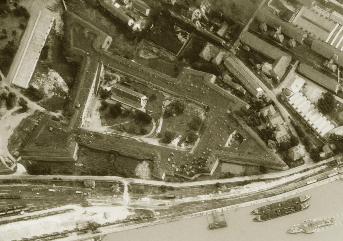 Letecke foto pevnosti 1960 (Medium)