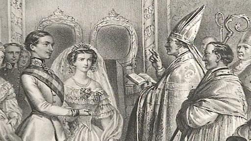 Frantisek Jozef a Sissi - Svadba