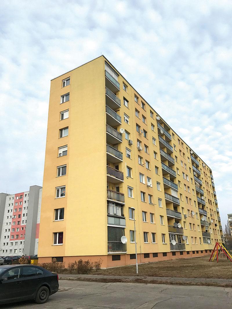 8-poschodový 27m