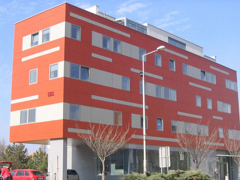 Budova Next 15m