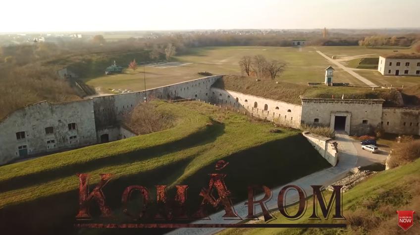 Ahoj Komárno - Úžasné letecké video o Komárne (SK), o Komárome (HU) aj o pevnosti